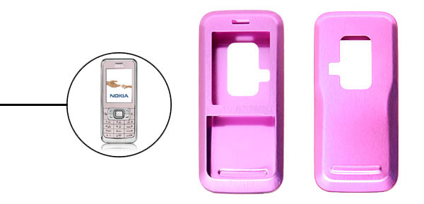 Brand New Luxury Aluminum Metal Case Skin for Nokia 6120