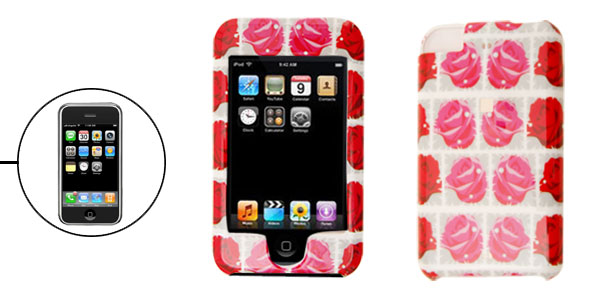 Rose Hard Plastic Case Cover for Apple iPod Touch 1st Generation