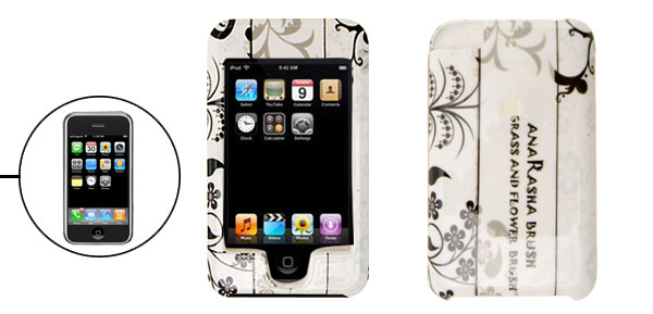 White Plastic Cover Hard Case for Apple iPod Touch  1st Generation