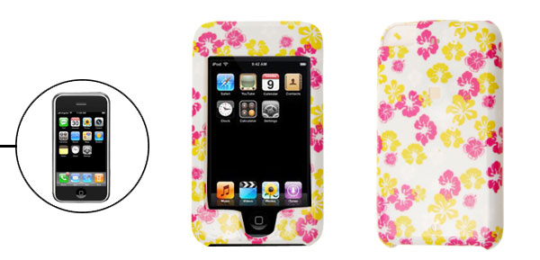 Flower Plastic Hard Cover Case for Apple iPod Touch 1st Generation