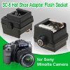 SC-5 Hot Shoe Adapter Flash Socket for Sony Minolta Camera