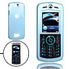 Fashion Slim Aluminum Metal Case Skin for Motorola L9 Sky Blue