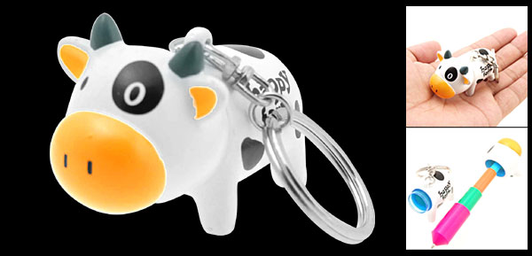 Unique Cow Retractable Key Chain PDA Touch Screen Pen