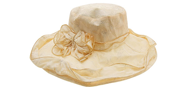 Summer Floppy Cap Wide Brim Beach Sun Hat Straw Yellow