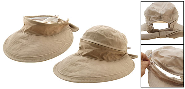 New Ladies Summer Floppy Cap Beach Sun Wide Brim Hat Khaki