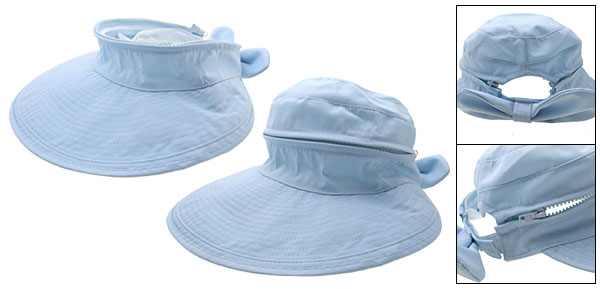 New Summer Floppy Ladies Cap Wide Brim Sun Hat Sky Blue