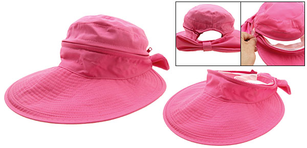 Beautiful Wide Brim Sun Hat Ladies Summer Floppy Cap Peachblow