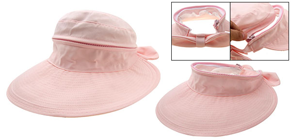 Beautiful Ladies Summer Floppy Hat Beach Sun Wide Brim Cap Pink