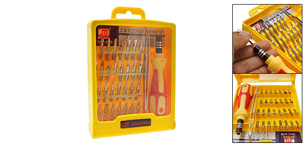 32 in 1 Pocket Electronics Screwdriver Set
