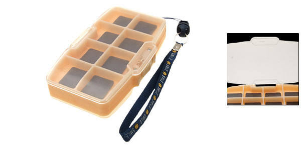 Multifunction Portable Two Side Plastic Fishing Tackle Box