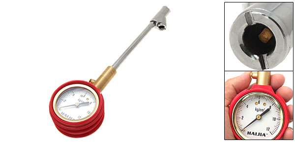Dial Type Tire-pressure Gauge Garage Tool