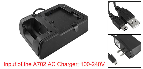 US Plug AC100-240V USB Sync Cradle Dock Battery AC Charger for Mitac Mio A702 GPS PDA phone