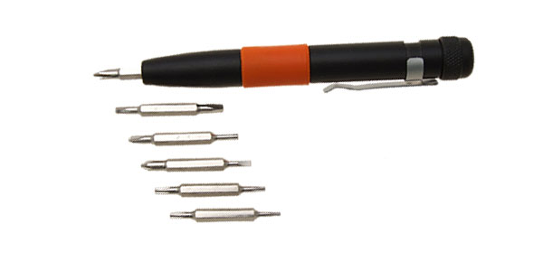 12 in 1 Portable Pen Shaped Screwdriver Set