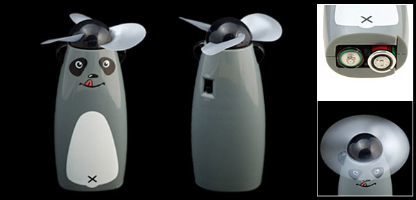 Cool Mini Dog Personal Fan Battery Operated Cooler