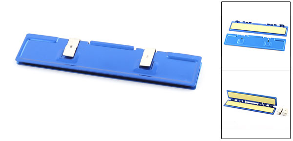 Aluminium Heat Sink Shim Heatsink Spreader Cooler Blue for SDR DDR RAM Memory