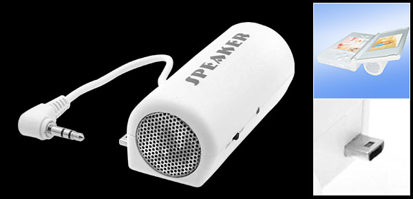 Pocket White Small Speaker for Nintendo DS Lite