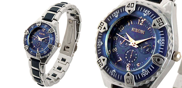 Fashion Jewelry Night Vision Sports Quartz Wrist Watch