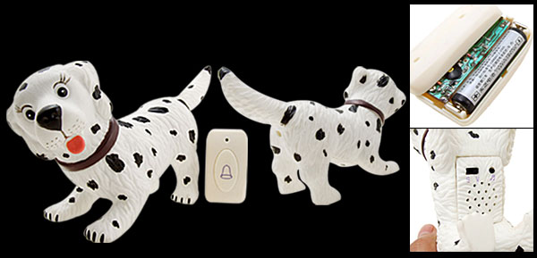 Creative Cute Animal Dog Motion Wireless Sound Doorbell