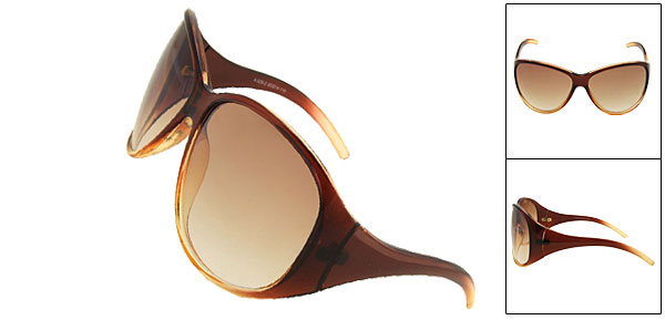 Fashion Sun Glasses Amber Ladies Sunglasses