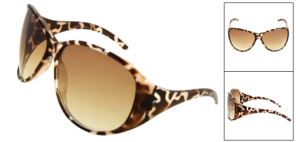 Fashion Leopard Sun Glasses Ladies Sunglasses