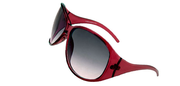 High Fashion Oversizd Sun Glasses Red Ladies Sunglasses