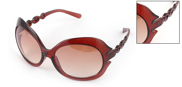 Brown Fashion Eyewear Sunglasses Womens Sun Glasses