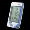 LCD Digital Indoor Outdoor Thermometer Desk Alarm Clock
