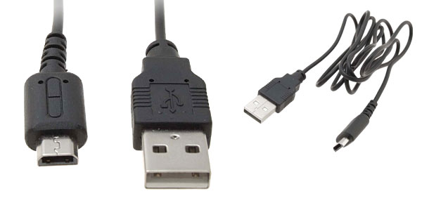 USB Data Transfer Download Charger Cable for Nintendo DS Lite
