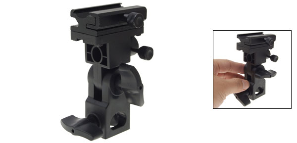 Flash Shoe Holder Light Stand Mount Swivel Bracket B type for Camera