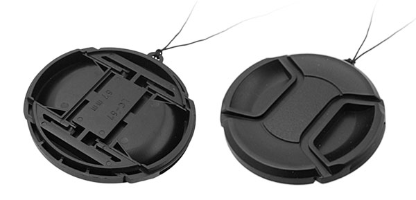 67mm Center Pinch Lens Cap Cover for SLR DSLR Camera