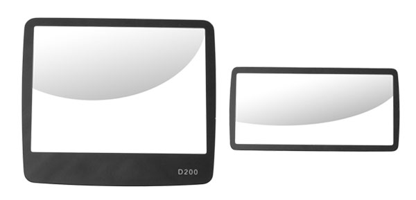 Professional Digital Camera Glass LCD Screen Protector Top and Bottom for Nikon D200
