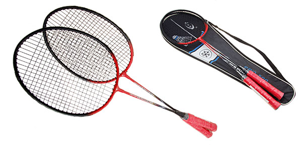 Red New Sport Playing Badminton Racket Racquet for Girls Boys Player