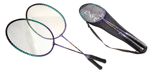 Girls Boys New Sport Purple Playing Badminton Racket Racquet for Player