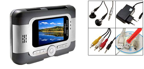 EU Plug AC100-240V Portable 2.5