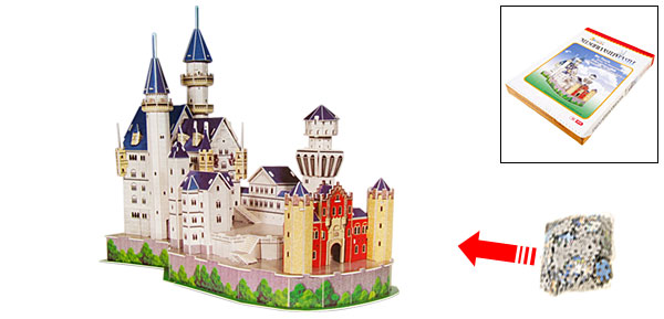 Puzzle Neuschwanstein German Castle Educational Toys