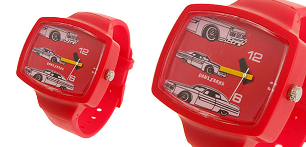 Fashion Jewelry Red Wristwatches Sports Children Girls Watches