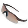 Cool Yellow Lens Black Frame Motorcycle Sport Men Sunglasses