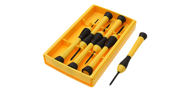 Pocket Precision Screwdriver Set 6 Pieces (L107625)