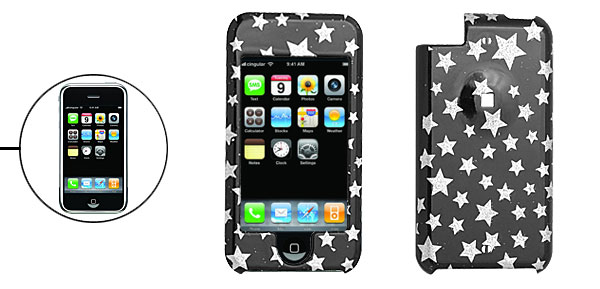 Star Hard Plastic Protector Case for Apple iPod Touch 1st Gen 1st Generation
