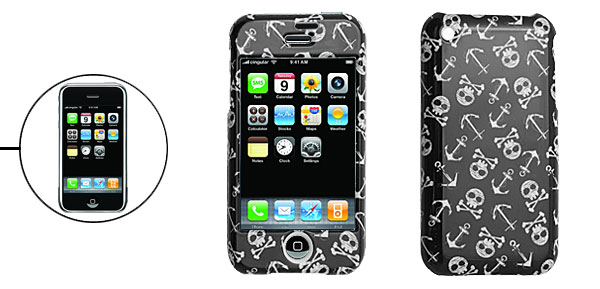 Skull Hard Plastic Cover Case for iPhone 1st Generation 1st Generation