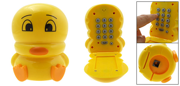 Duck Cartoon Home Telephone Phone Yellow