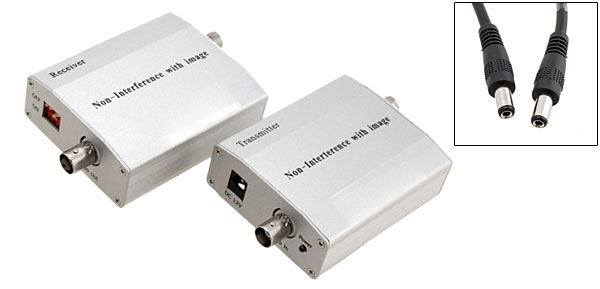 TV Video Non-interference Transmitter and Receiver Adapter