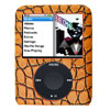 Snake Skin Leather Plastic Case for iPod Nano 3rd Generation 3G