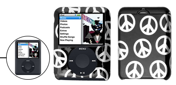 Hard Plastic Case for iPod Nano 3rd Generation 3G Black
