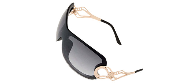 Stylish Ladies Women Cool Black Frame Sports Sunglasses