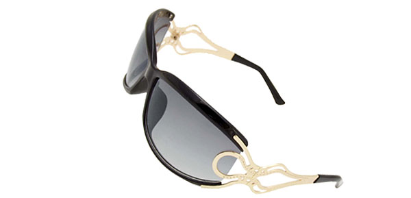 Black Frame Unique Ladies Women Sports Sunglasses