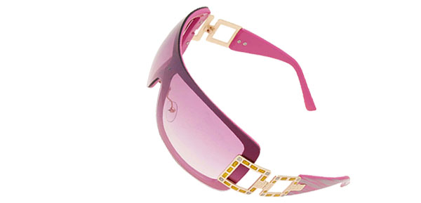 Cool Girl Ladies Eyewear Sports Sunglasses Purple