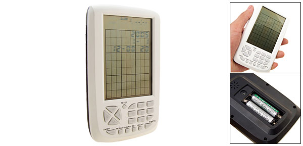 Unique Sudoku Electronic Games Portable Handheld Puzzle White