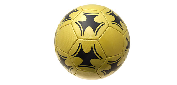 Golden Cool Soccer Ball Football Official Size 5