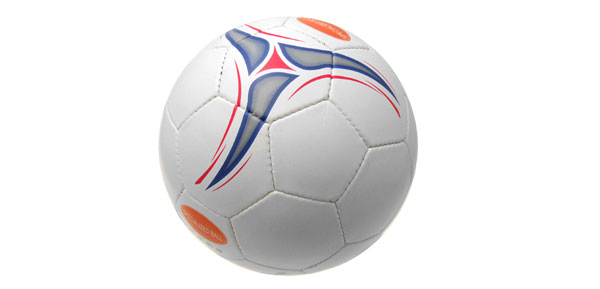 New Official Leather Soccer Ball Football Size 5 White